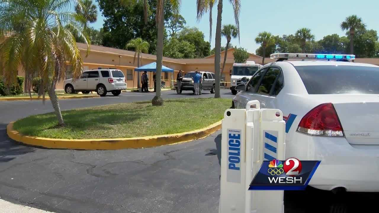 SWAT team members found a murder suspect and his wife dead inside of a Daytona Beach motel.