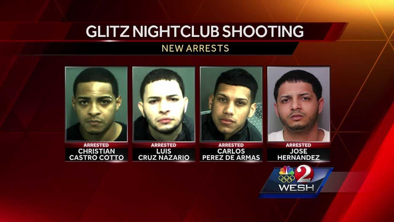 Four new arrests have been made in the February shooting inside Glitz nightclub in Orlando. Stewart Moore reports.