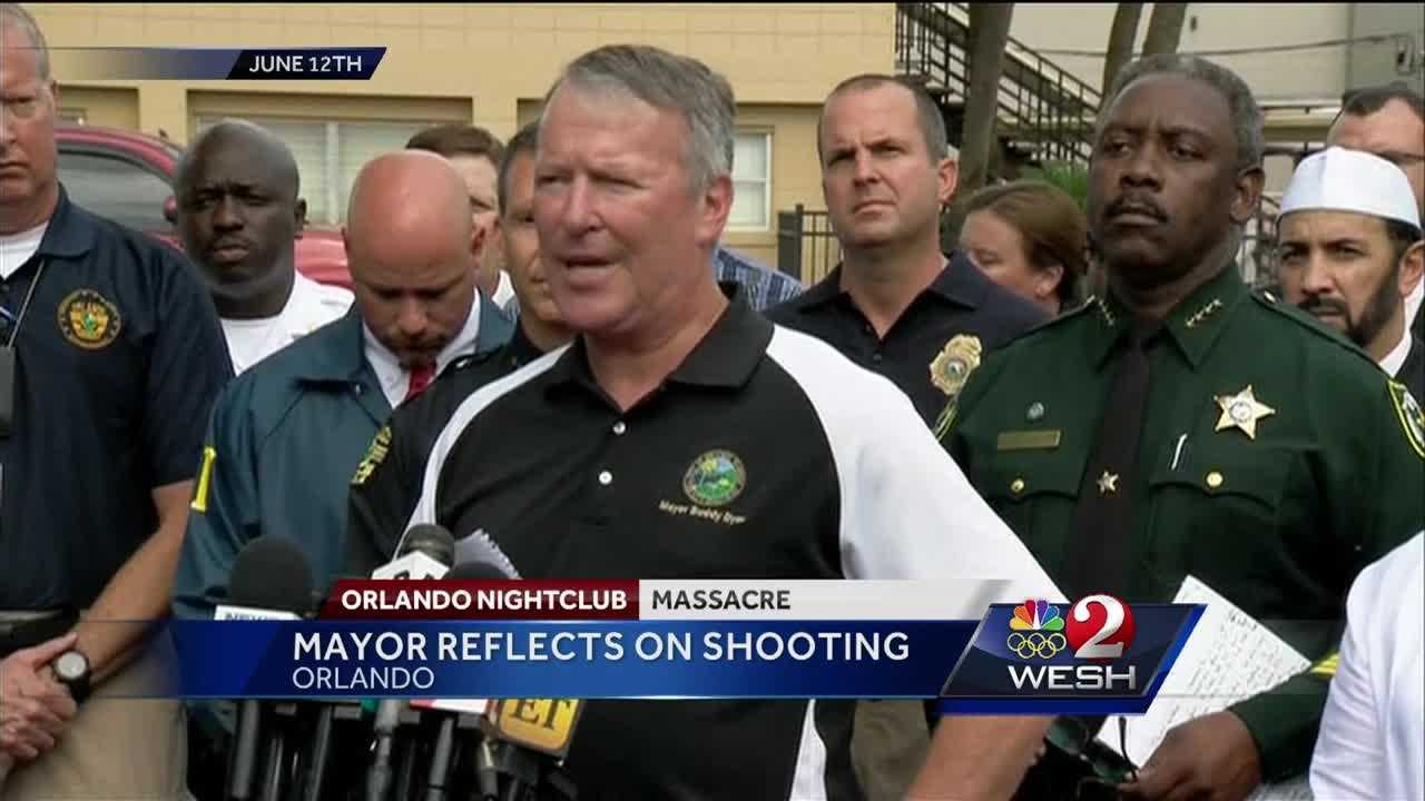 """We're going to do something world-class to memorialize the victims here."" WESH 2 speaks with Buddy Dyer about the Pulse shooting and the future of Orlando."