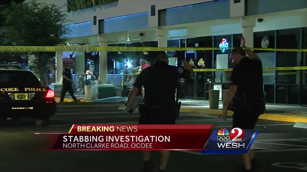 Police in Ocoee are investigating a stabbing at a bar that injured four people overnight.