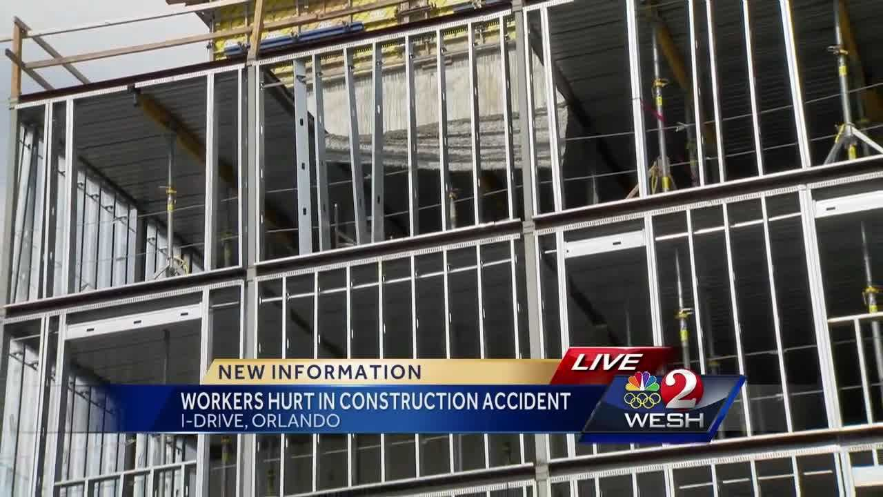 WESH 2 News is learning new information about an accident at an Orange County construction site Tuesday morning. Bob Kealing reports.