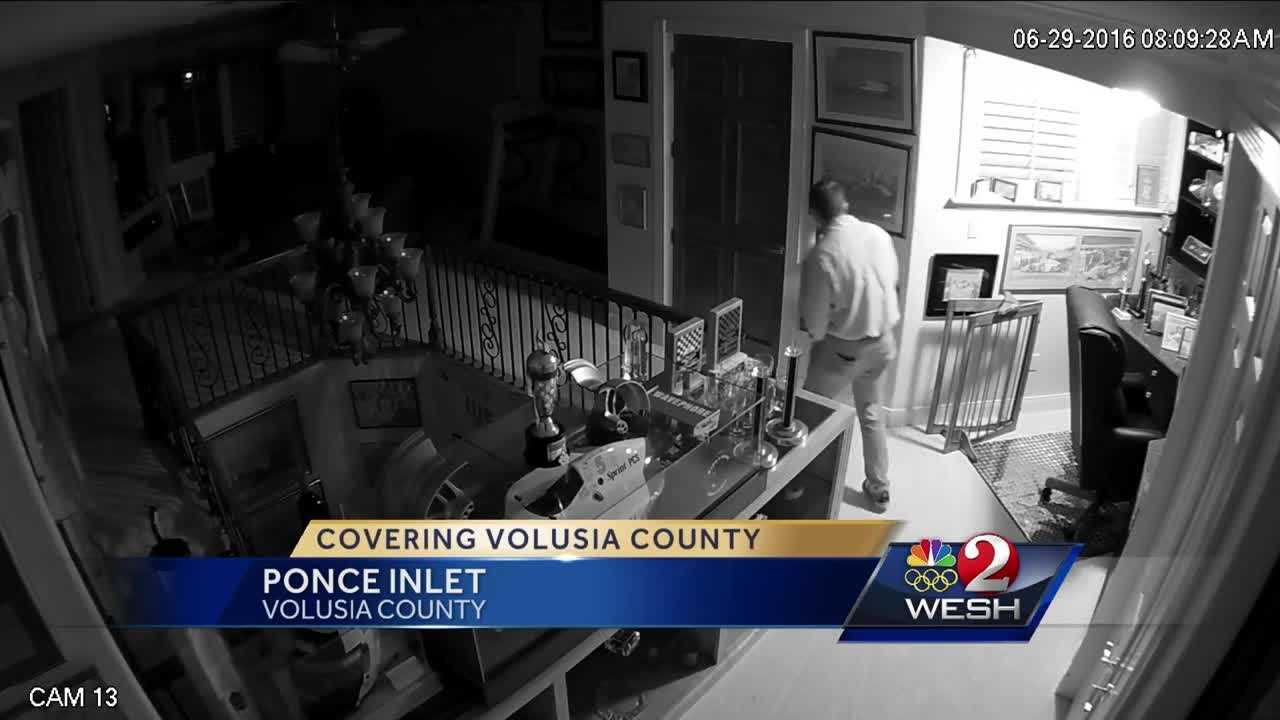 Thousands of dollars, jewelry stolen from Ponce Inlet man's home