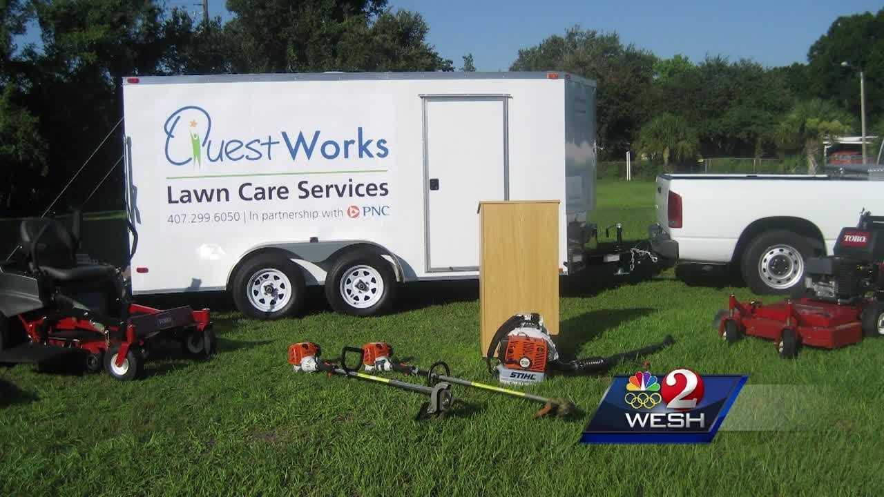 $40,000 in lawn equipment stolen from nonprofit