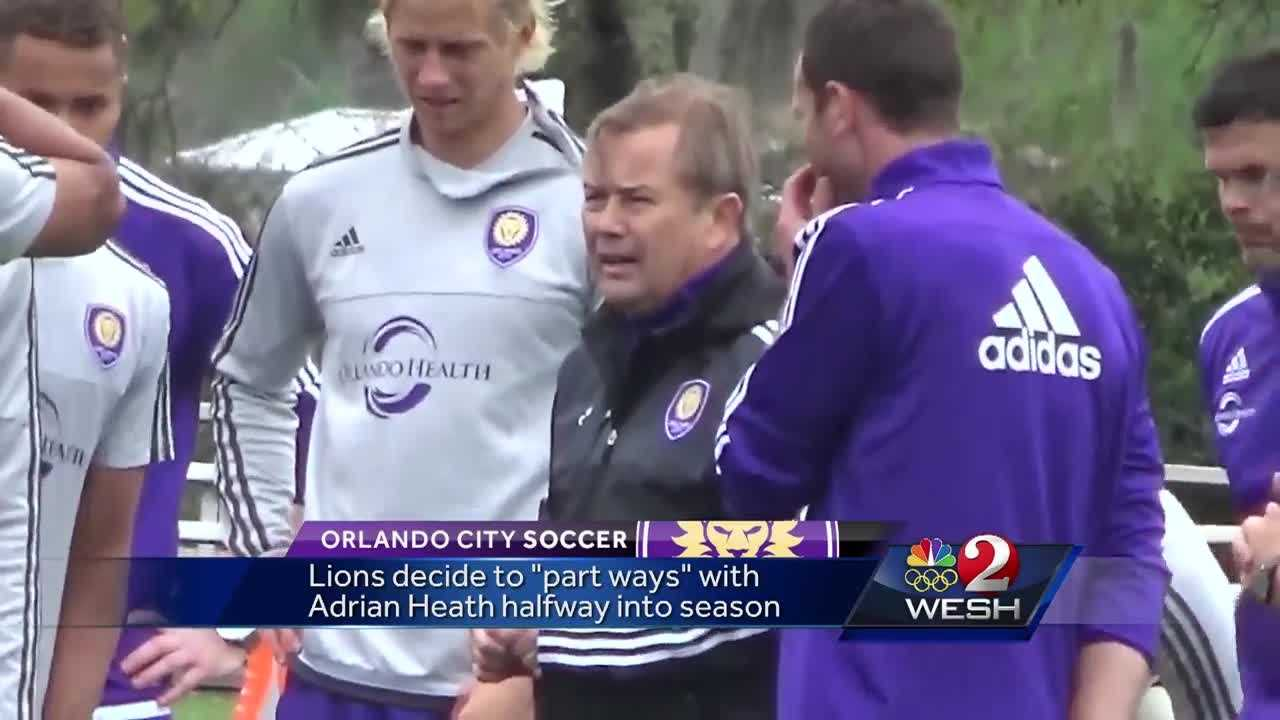 Orlando City Soccer Club says it's agreed to part ways with Adrian Heath, and the reaction is mixed.