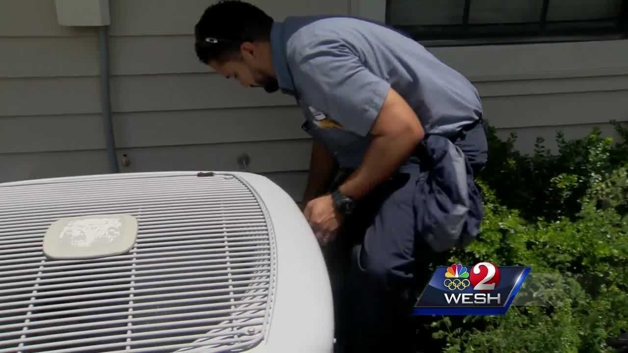 No one knows the agony of the Central Florida heat more than those with air-conditioning problems. Calls for repairs are keeping technicians very busy. WESH 2's Greg Fox joins us in Longwood to show us all how to avoid AC break-downs.