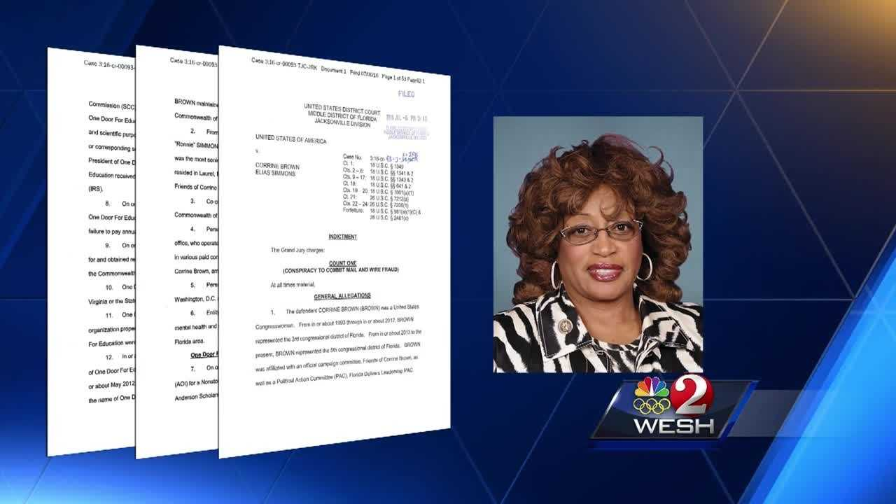 U.S. Rep. Corrine Brown of Florida and her chief of staff have pleaded not guilty to multiple charges of fraud and other offenses following an investigation into a phony charity.