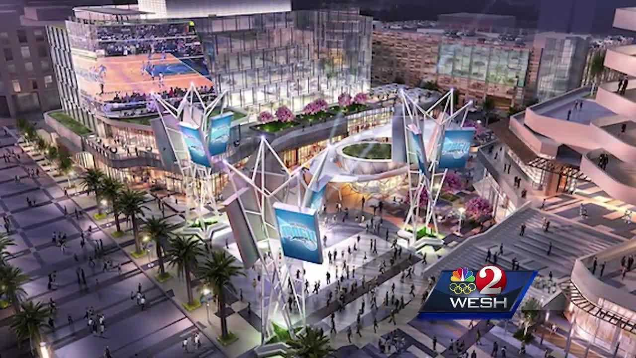 The Orlando Magic take the first big leap into what could be a slam dunk for downtown entertainment. Greg Fox (@GregFoxWESH) shows us what's planned.