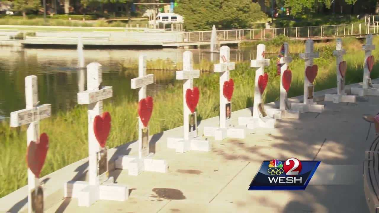 Moments after Gary Zanis heard about the killings at Pulse nightclub, he said he began working on 49 3-foot crosses. They're now going to be preserved in a permanent memorial.