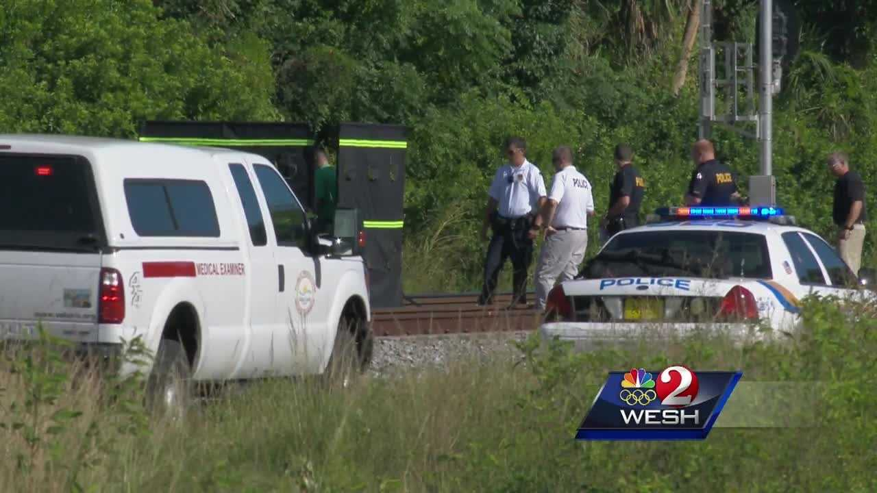 A person believed to have been struck and killed by a train in Holly Hill was discovered along the tracks Wednesday morning.