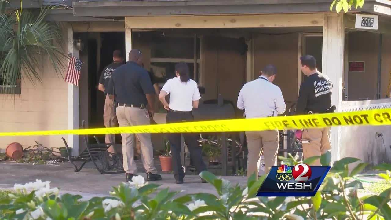 Firefighters rescue woman from burning home