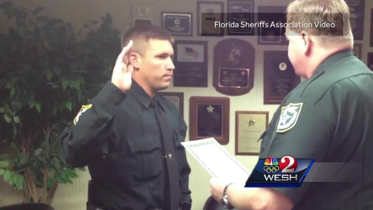 He's a decorated war hero who came back to Central Florida and took a job as a deputy with the Brevard County Sheriff's Office. He recently survived a gun battle that played out on local streets and has now been awarded Florida's Deputy of the Year. Dan Billow reports.