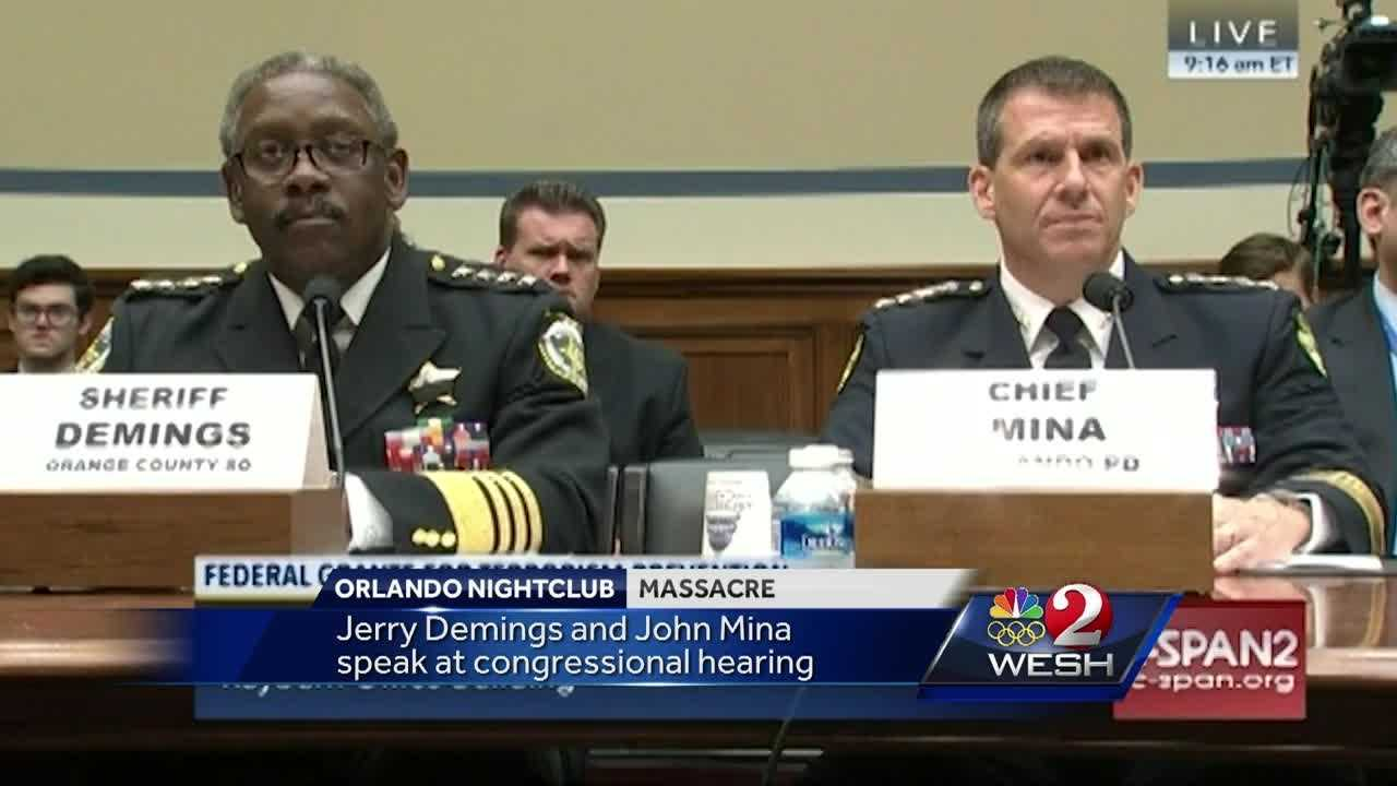 Mina, Demings speak at congressional hearing