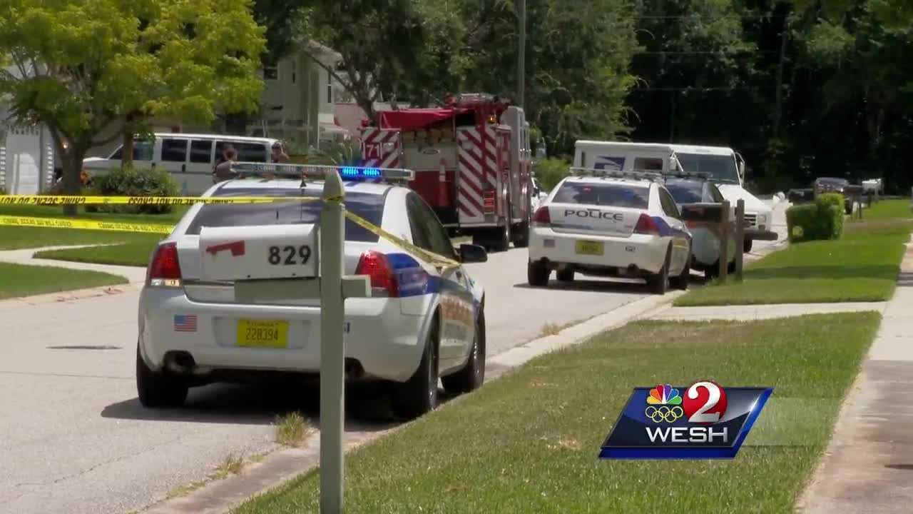 An 8-year-old boy died Friday after he accidentally shot himself in the chest in Port Orange, police said. Port Orange police said the shooting was reported about 11:45 a.m. at a home on Hudson Lane. Claire Metz reports.