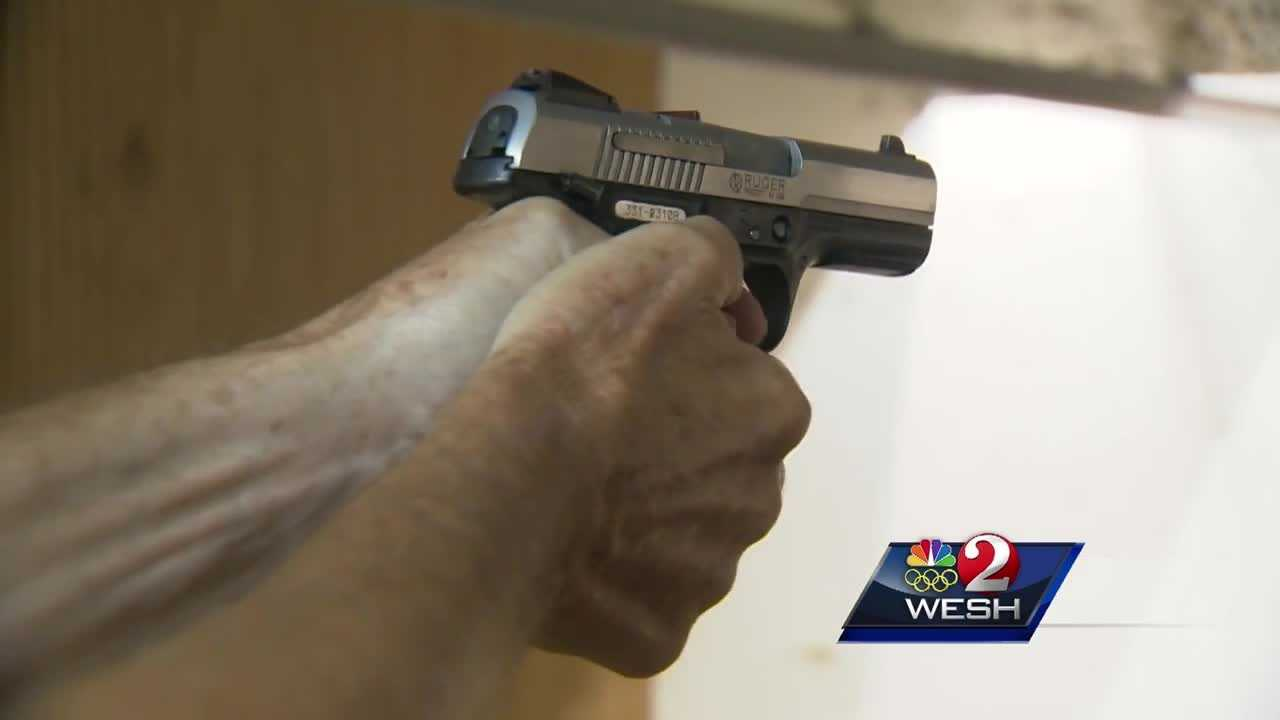 Local gun store owners say they've had an increase in people wanting to apply for and renew their concealed weapons permits since the Pulse massacre. Bob Kealing has the story.