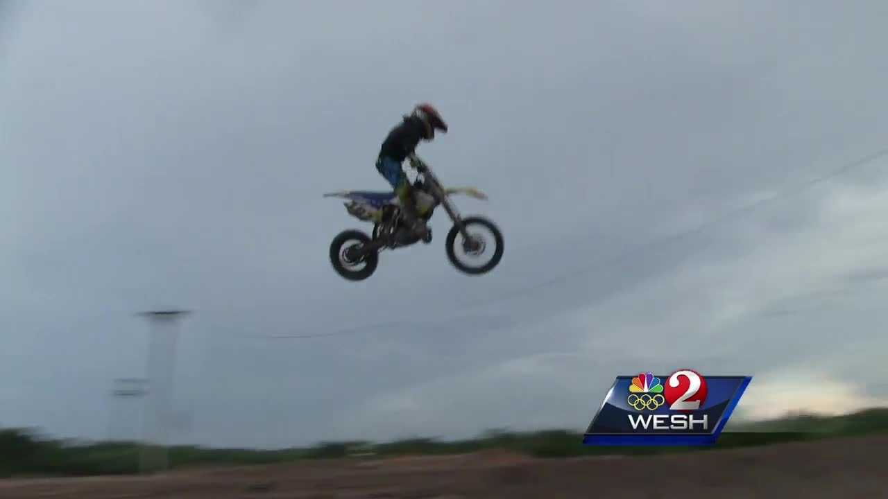 Orlando youngster preps for motocross championship