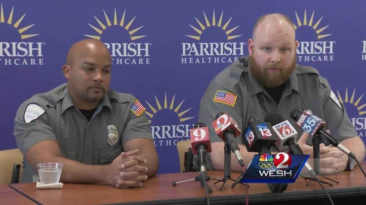 Guards who stopped hospital shooting suspect speak out
