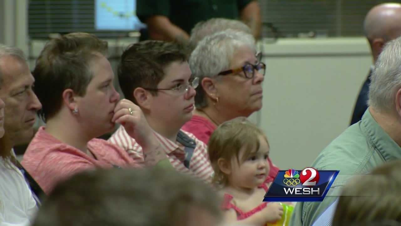 The Brevard Public Schools' board is holding a meeting to debate the LGBT Anti-Discrimination policy. Dan Billow has more on the hours before the vote.