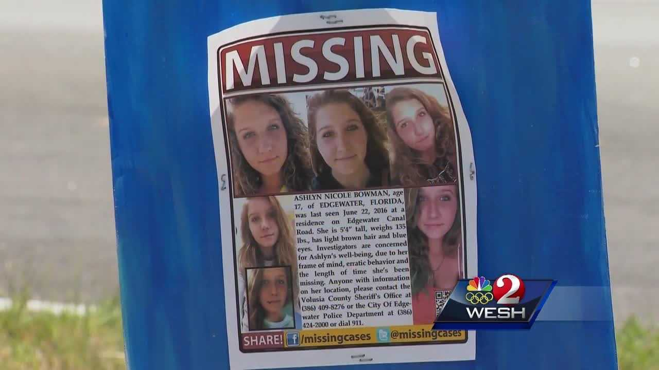 It will soon be a month since 17-year-old Ashlyn Bowman of Edgewater went missing. To increase efforts of finding the teen, the Sheriff's Major Case unit will lead an organized search starting tomorrow.