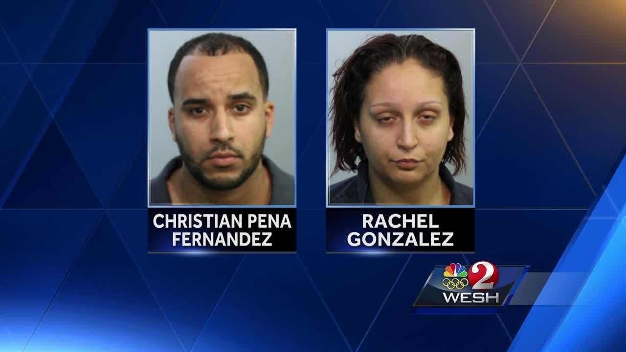 Officials wrapped up a year-and-a-half human trafficking investigation from Seminole County today. Christian Pena Fernandez and Rachel Gonzalez were arrested and made appearances in court, where Pena is held without bond. They wait to hear if they will be extradited back down to Orange County.