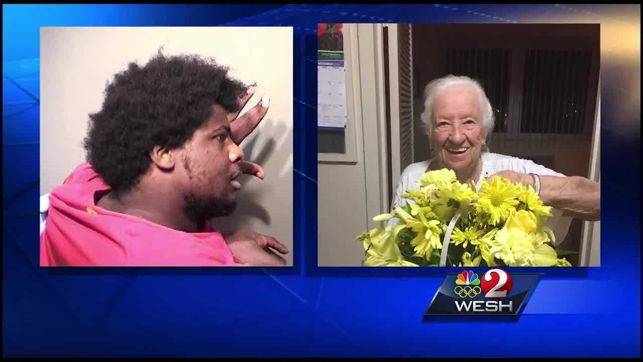 Family members of an elderly woman shot and killed at a Titusville hospital over the weekend say they have connections to the family of the suspect.  Dan Billow has the story.