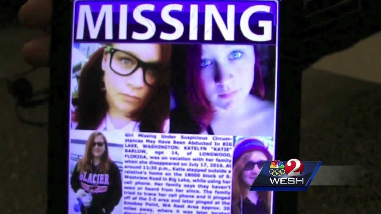 14-year-old Katie Barlow is from Brevard County. She disappeared Sunday while in the state of Washington. Her family is now making a plea for clues. Dan Billow reports.