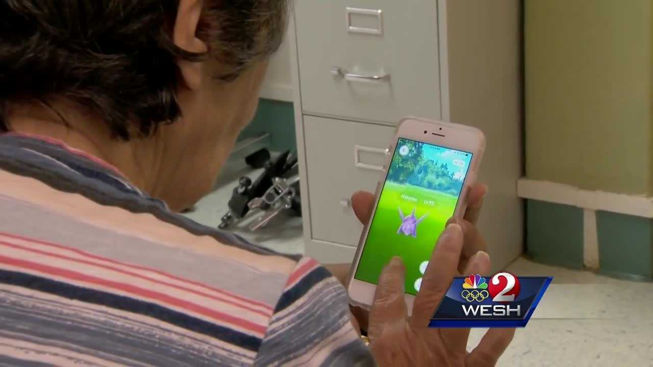 The Debary Health and Rehab Center is introducing a new way to help their patients recover. The app, Pokemon Go. Playing the game on a phone helps get these seniors out of the chairs and on their feet. Even 92-year old Chloe Kauffman is trying to catch them all.