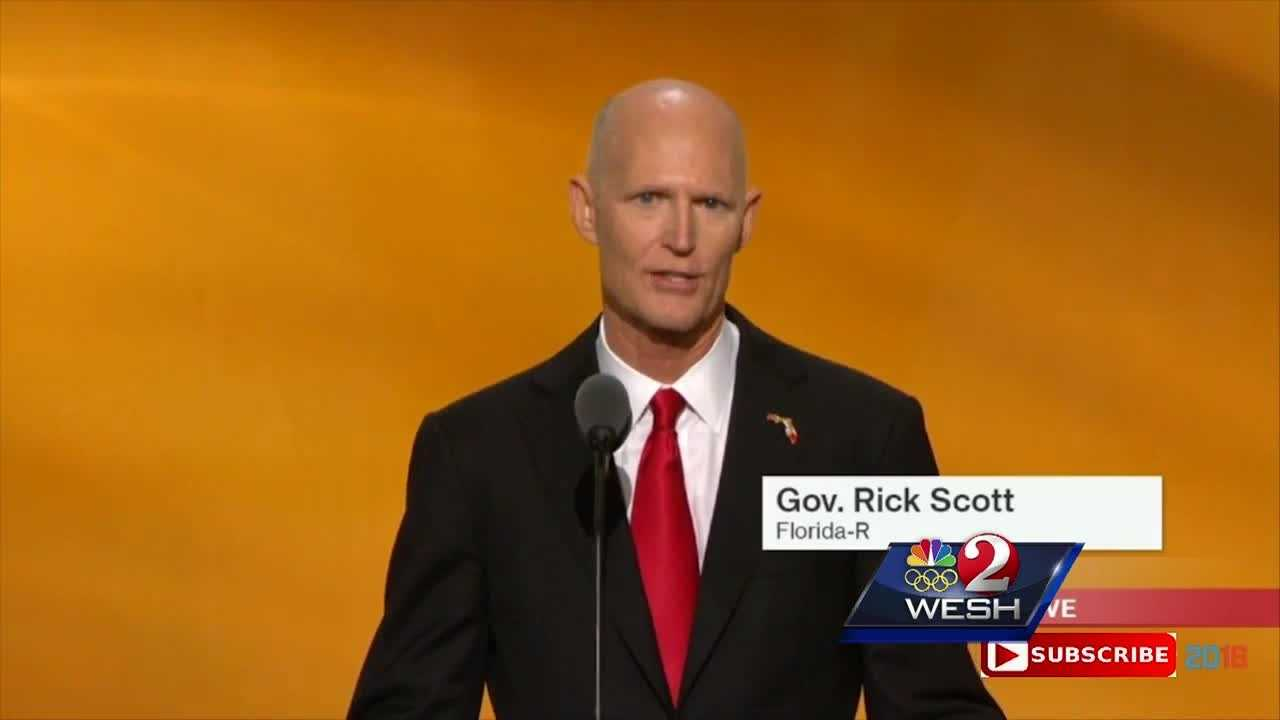 Florida Governor Rick Scott's speech about jobs and the economy at the RNC went through our WESH 2 Truth Test.
