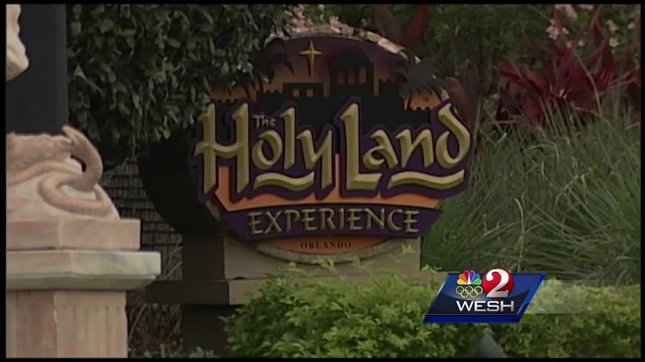 The Holy Land Experience continued its sale of unusual items Friday bringing out the bargain hunters and the curious amid a period of financial turmoil for the tax-exempt theme park.