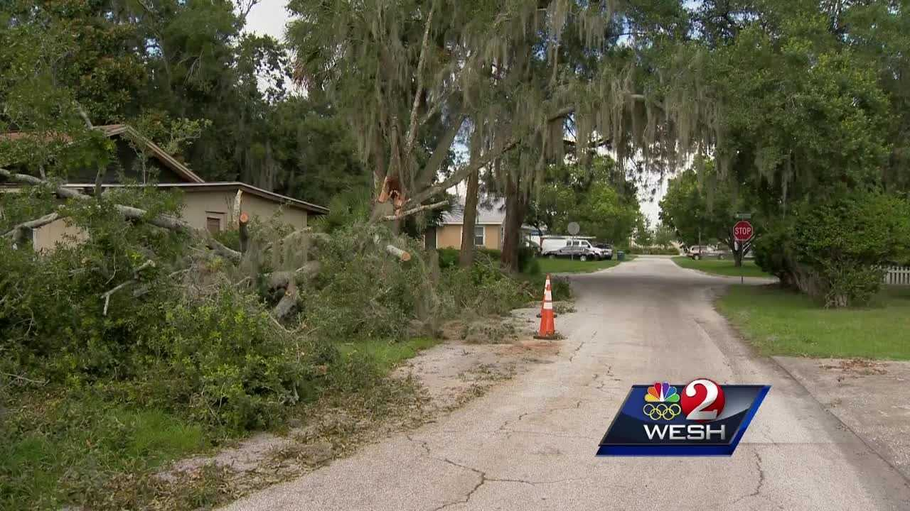Neighborhoods are cleaning up after high winds swept through Friday, and experts say it should be a warning to other homeowners.