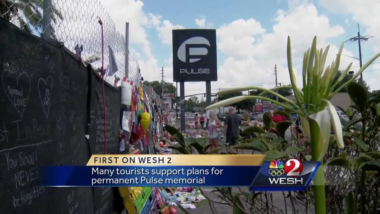 "Owners of Pulse nightclub plan to build a""Sanctuary of Hope"" as a memorial for the 49 victims who lost their lives in the mass-shooting June13. National and international tourists support plans for a permanent memorial."