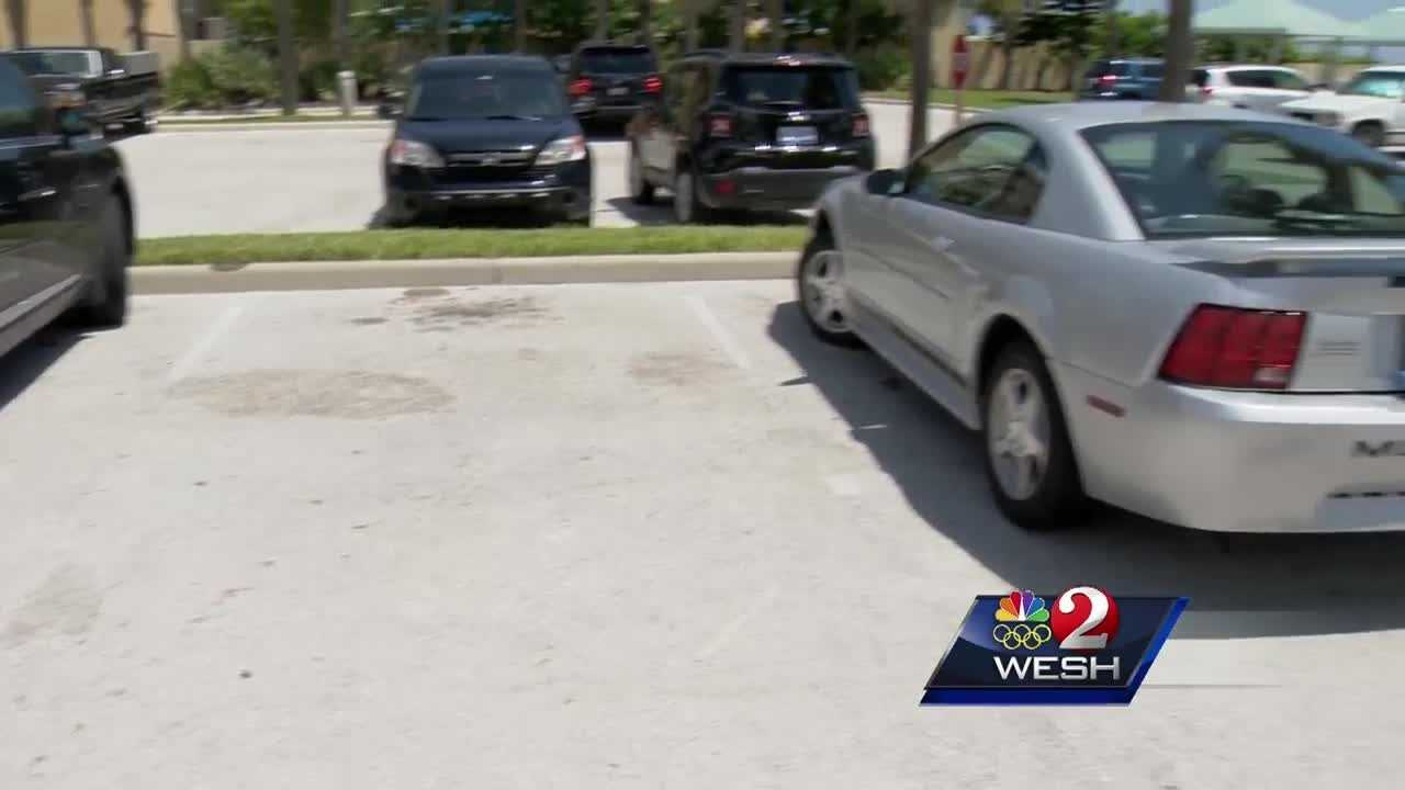 A car was stolen from an off-beach parking lot at Daytona beach.