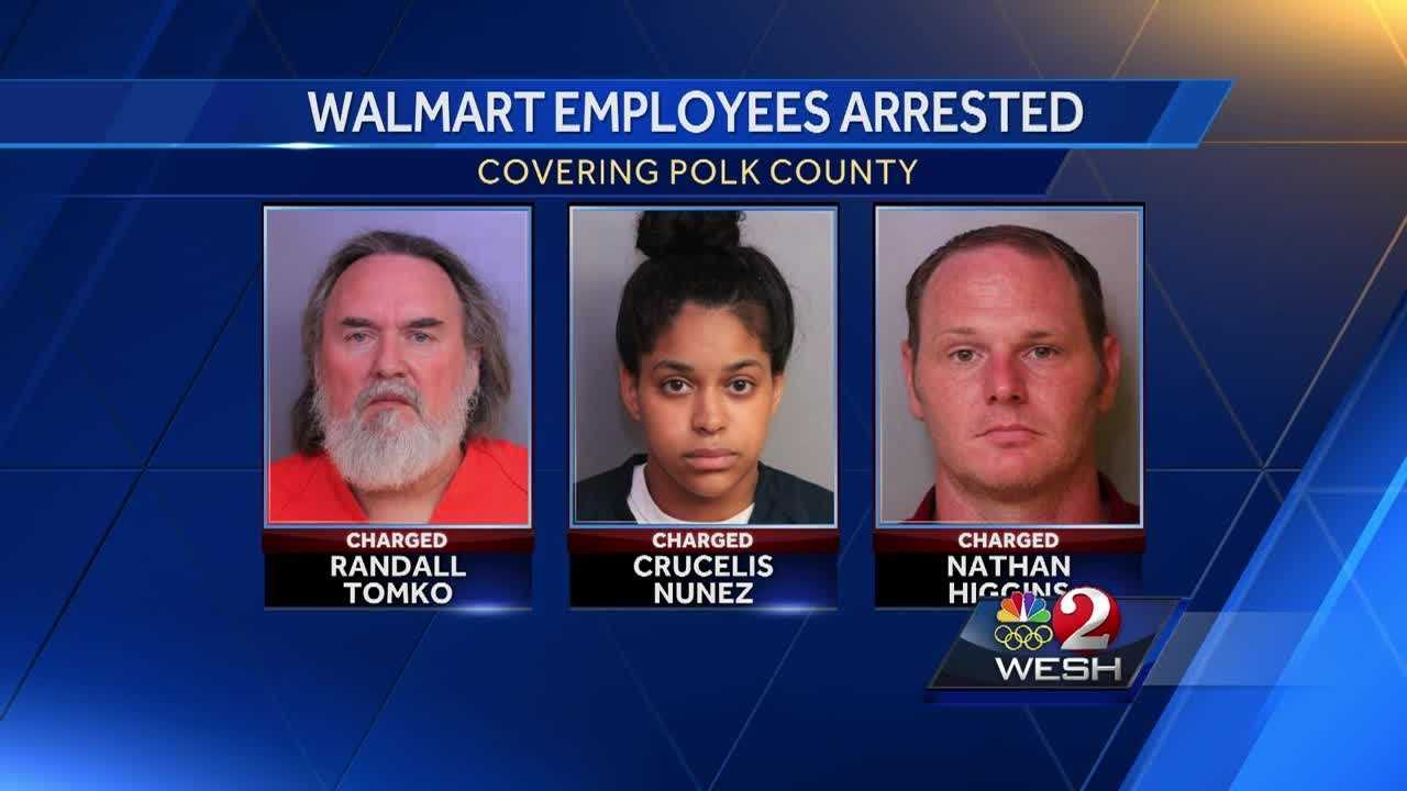 Three Walmart employees are facing manslaughter charges, accused of killing a man who was trying to shoplift from the store.