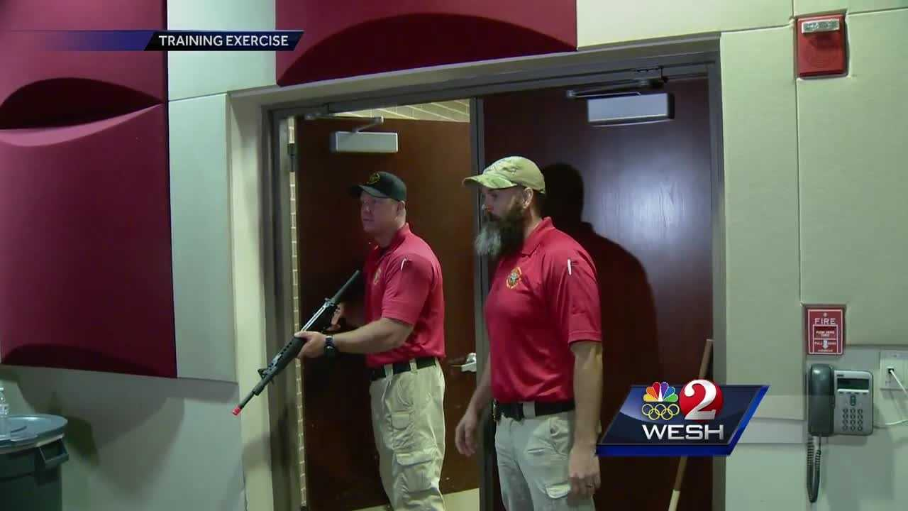 People in Brevard County learned Friday how they can fight back in an active shooter situation.