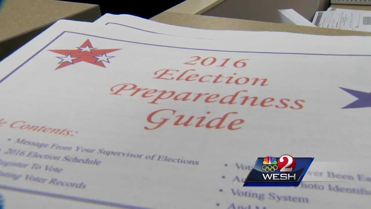 So far, 72,000 people from Volusia County have requested vote-by-mail ballots for this month's primary election. That's already more ballots than for the general election in 2012. Greg Fox reports.
