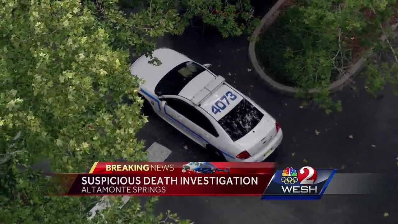 Suspicious death investigation underway in Altamonte Springs