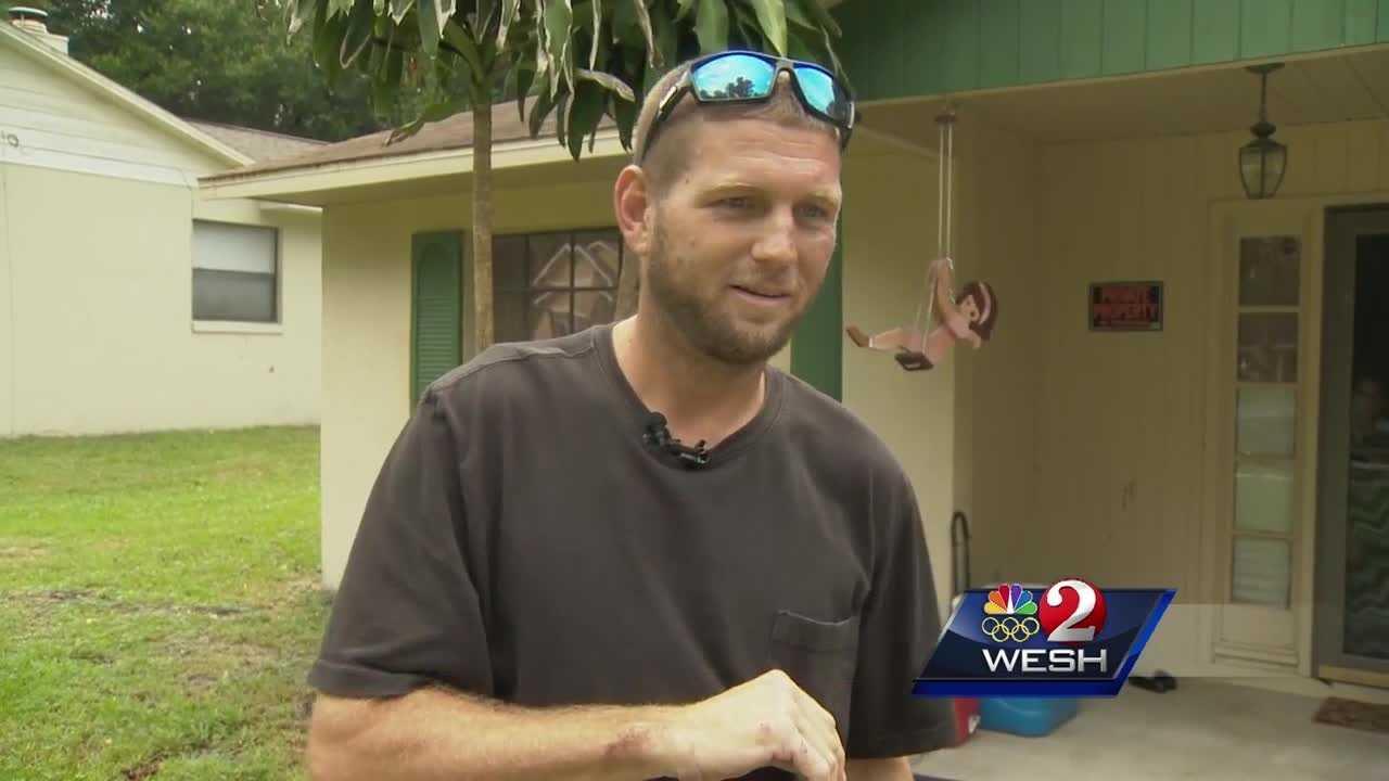 Man saves trucker's life