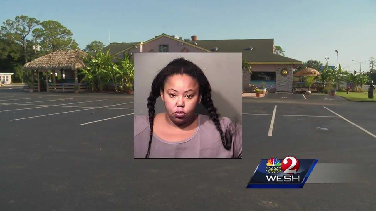 Titusville police say Ariel Smith, 30, hit an officer with a car outside of a restaurant Thursday evening. That forced officers to shoot at her.