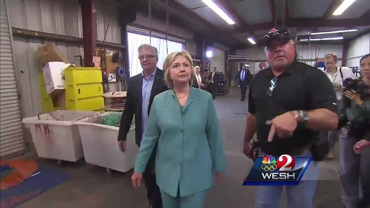 Hillary Clinton is coming to Central Florida on Monday.