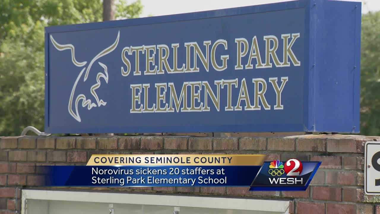 A local district is scrambling to clean up the elementary school before students return to class this week.