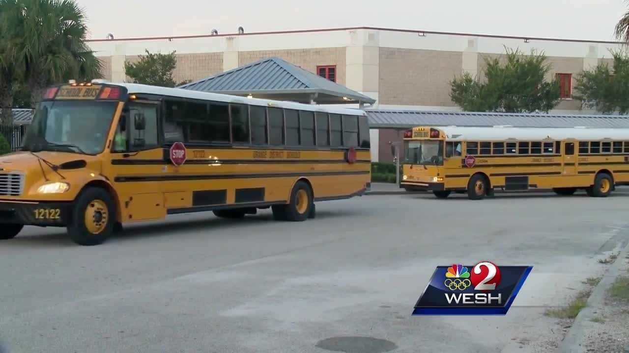 Drivers, monitors and other employees gathered at the Orange County Convention Center for special training before school begins. They heard advice from experts on bullying and how to handle the problem. Amanda Crawford reports.