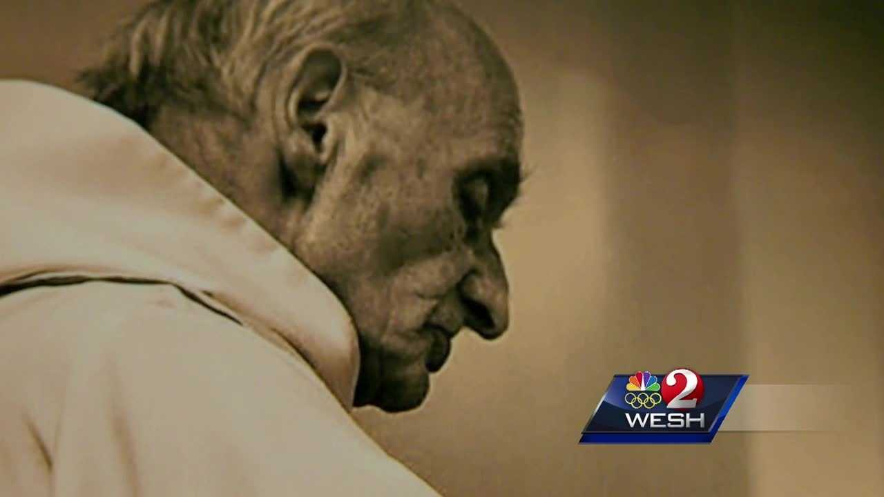 The congregation of St. Thomas More Priory, a traditional Catholic church in Sanford, gathered for a special mass in honor of a priest whose life was taken by terror. Matt Lupoli reports.