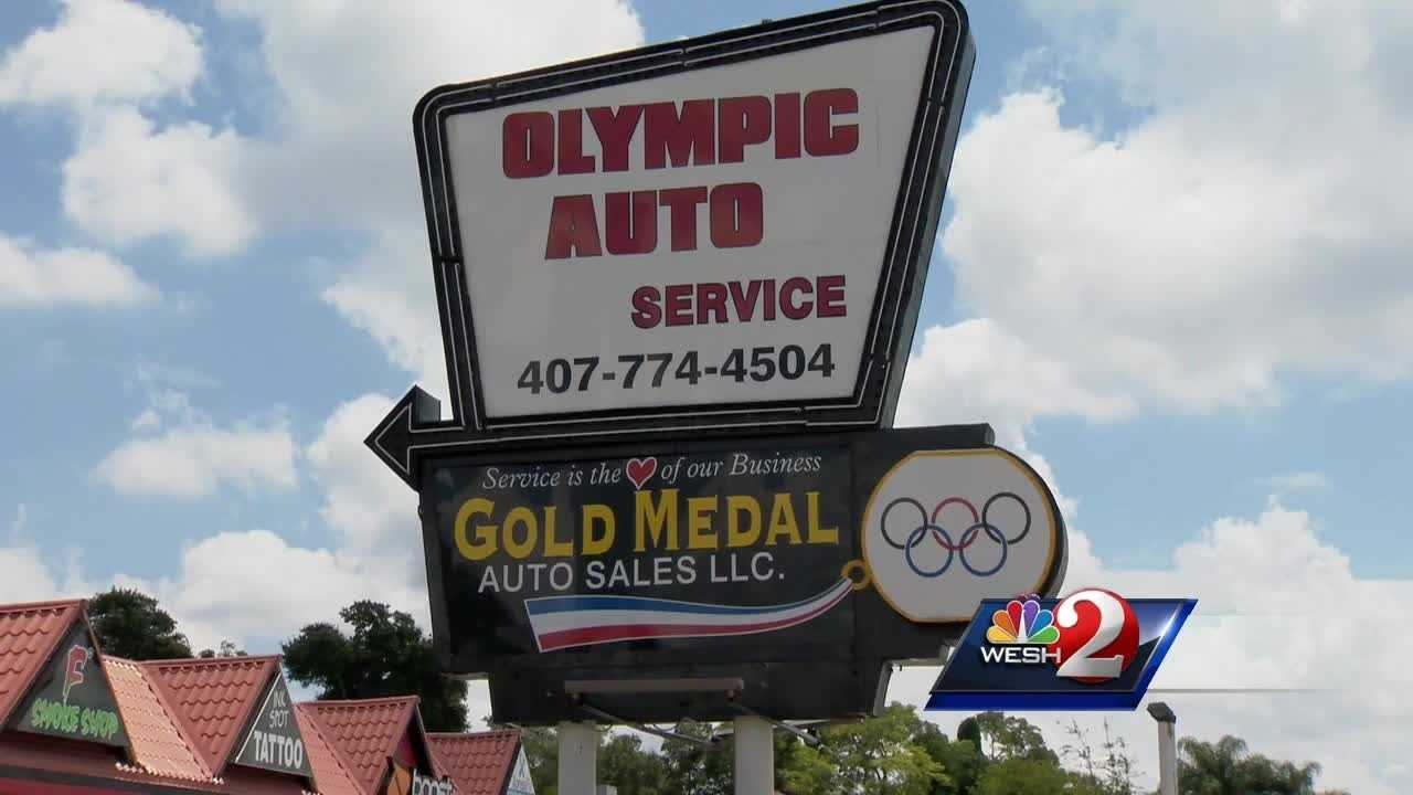 For the Olympic athletes, winning gold, comes from a lifetime of hard work.  For some businesses, though, all it takes, is a sign.