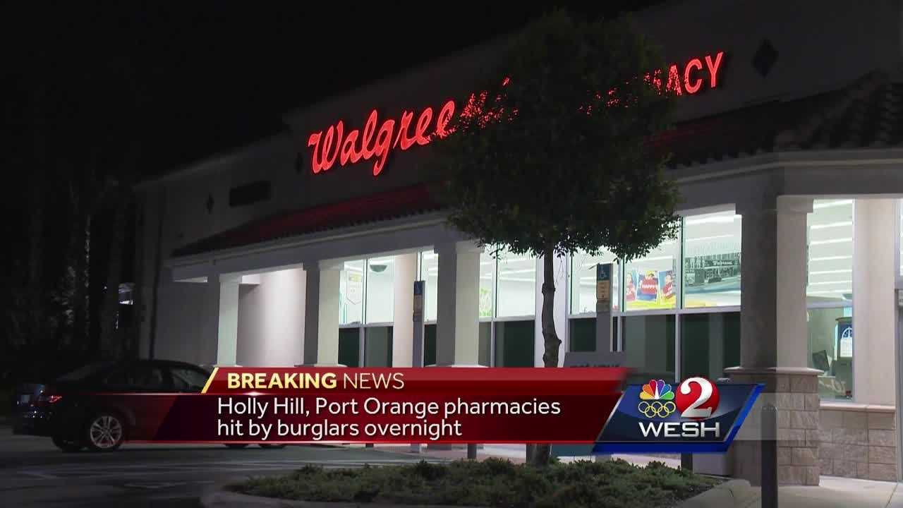 Burglars target Volusia pharmacies overnight