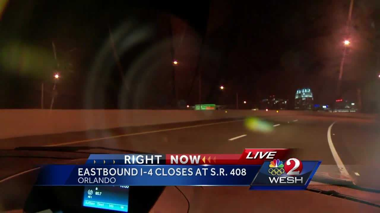 Summer Knowles brings us the latest traffic update from I-4 in Orlando.
