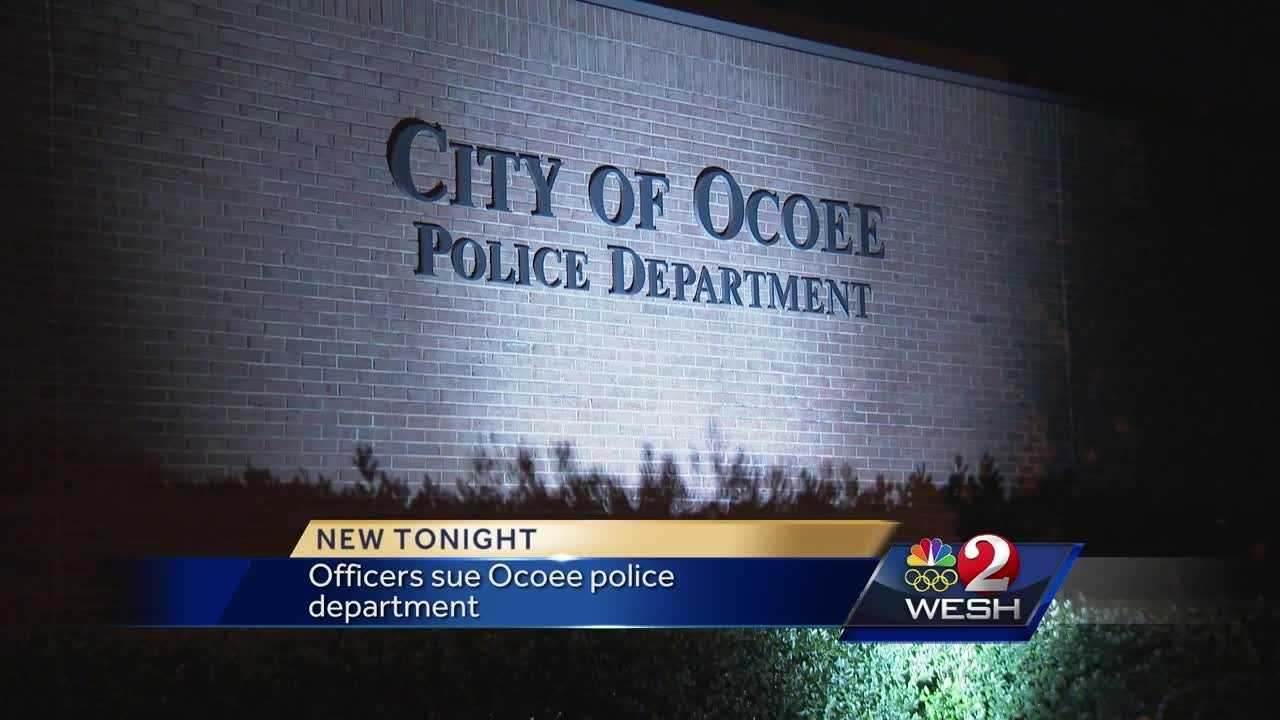 The Ocoee Police Department is facing a lawsuit from two of its own. Summer Knowles explains.