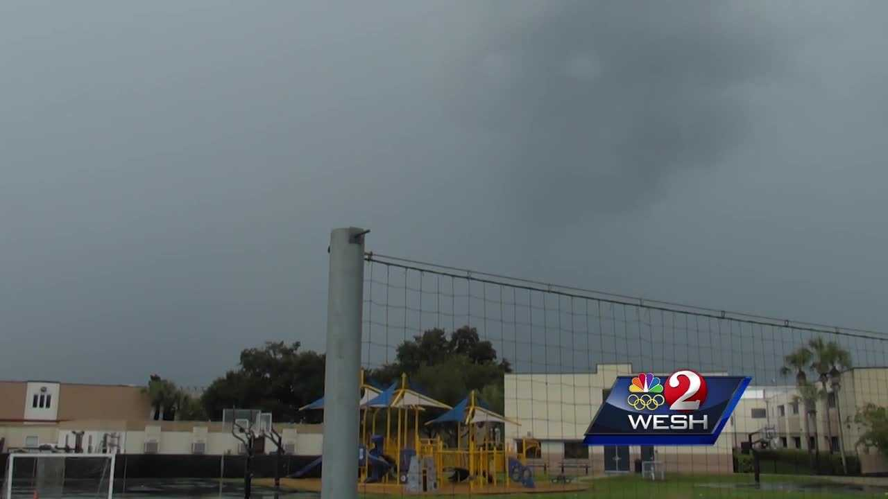 A teen is in stable condition after being struck by lightning Tuesday. Chris Hush reports.