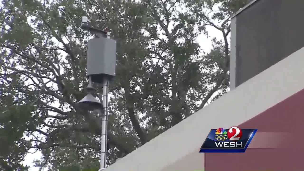 Student returns home from hospital after lightning strike