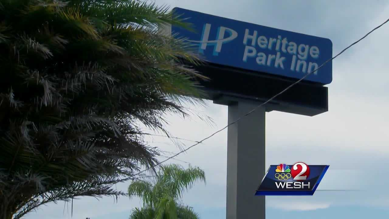 A last minute anonymous donation saved 70-80 families who live at the troubled Heritage Park Inn in Kissimmee from being left in the dark