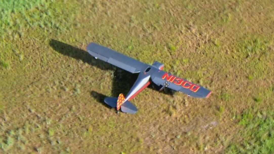 Ormond beach plane down.JPG
