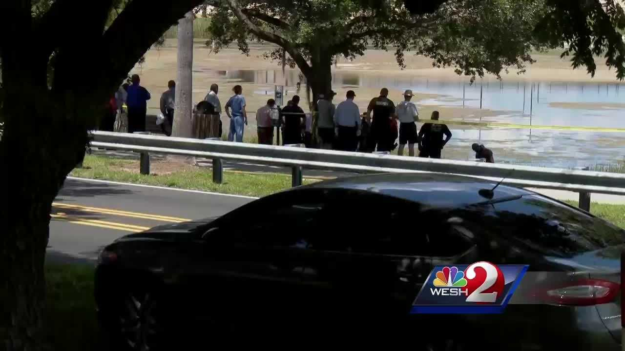 In Orange County, a body has been found floating in a local lake. Michelle Meredith brings us the latest report.